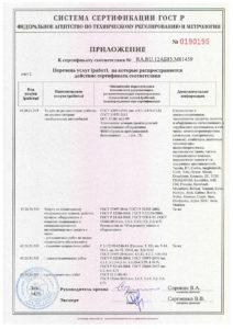 Сертификат на ремонт погрузчиков страница 3